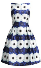 CHI CHI LONDON - Blue Flower Dress - Rent Designer Dresses at Girl Meets Dress