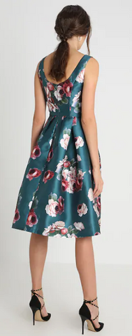 CHI CHI LONDON - Bryony Floral Dress - Designer Dress hire