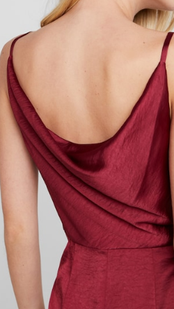 CHI CHI LONDON - Burgundy Alexandria Gown - Designer Dress hire