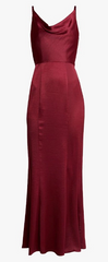 CHI CHI LONDON - Burgundy Alexandria Gown - Rent Designer Dresses at Girl Meets Dress