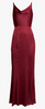 DARK PINK - Joy Halter Maxi Dress - Designer Dress hire
