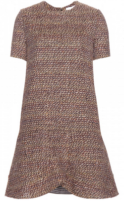 CHLOE - Tweed Cosy Dress - Designer Dress hire