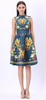 Self Portrait - Asymmetric Floral Midi Dress - Designer Dress hire