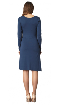CRAVE MATERNITY - Side Wrap Maternity Dress - Designer Dress hire