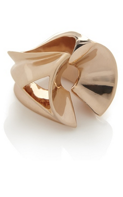 DOMINIC JONES - Deco Semi Sphere Ring - Designer Dress hire