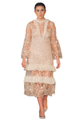 OMAR MANSOOR - Beatrice Lace Dress - Designer Dress Hire