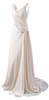 THE FOLD - Camelot Dress White Tweed - Designer Dress hire