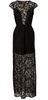 GORGEOUS COUTURE - The Amelia Dress Black - Designer Dress hire