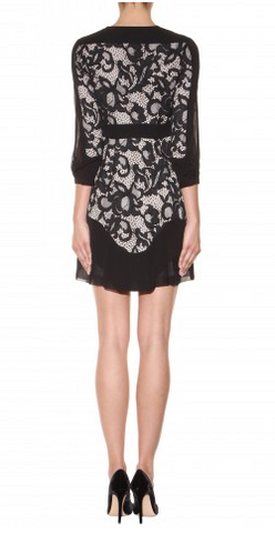 DIANE VON FURSTENBERG - Fern Lace Dress - Designer Dress hire