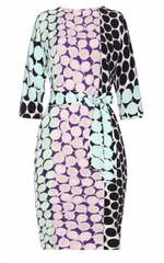 DIANE VON FURSTENBERG - Maja Two Printed Dress - Designer Dress Hire