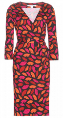 DIANE VON FURSTENBERG - Julian Two Lip Wrap Dress - Designer Dress Hire