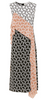 DIANE VON FURSTENBERG - Printed Abstract Silk Dress - Designer Dress hire