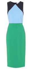 DIANE VON FURSTENBERG - Geometric Colour Dress - Designer Dress Hire