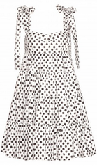 DOLCE & GABBANA - Polka Dot Cotton Dress - Designer Dress Hire