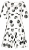 DOLCE & GABBANA - Polka Dot Sleeved Dress - Designer Dress hire