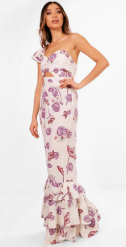BH - Izzy Floral Maxi Dress - Designer Dress hire