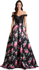 DRESSES BY LARA - Pink Flower Show Gown - Rent Designer Dresses at Girl Meets Dress