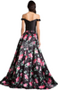 DRESSES BY LARA - Pink Flower Show Gown - Designer Dress hire