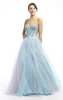 DYNASTY - Turquoise Jasmin Gown - Designer Dress hire