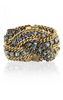 ELIZABETH COLE - Braided Chain Bracelet - Designer Dress hire