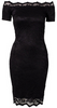 GORGEOUS COUTURE - The Bailey Dress Black - Designer Dress hire