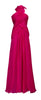 ARIELLA - Velvet Devoree Gown - Designer Dress hire