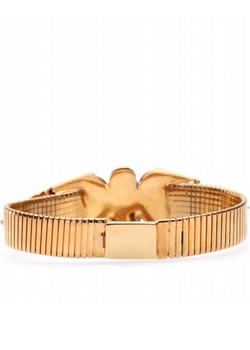 EMILIO PUCCI - Gold Crystal Bracelet - Designer Dress hire
