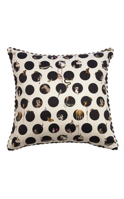 Emily Humphrey - Character Polka Cushion - Designer Dress hire