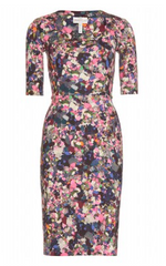 ERDEM - Etta Print Dress - Designer Dress Hire