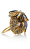 ERICKSON BEAMON - Envy Oversized Swarovski Ring - Designer Dress hire