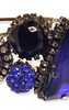 ERICKSON BEAMON - Envy Purple Blue Bracelet - Designer Dress hire