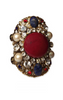 ERICKSON BEAMON - Osman Bracelet Red - Designer Dress hire
