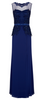 LIBELULA - Long Velvet Tatti Dress - Designer Dress hire
