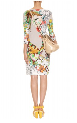 ETRO - Paisley Print Dress - Designer Dress hire