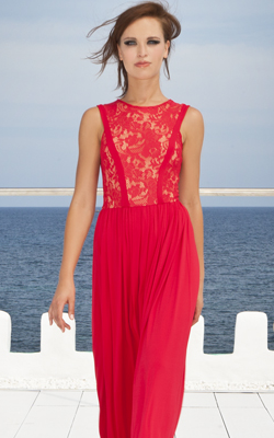 GORGEOUS COUTURE - Evita Maxi Dress - Designer Dress hire