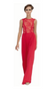 HONOR GOLD - Faye Maxi Dress Red - Designer Dress hire