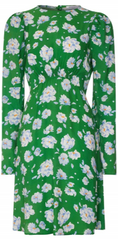 GHOST - Evonna Green dress - Rent Designer Dresses at Girl Meets Dress