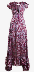 FOR LOVE & LEMONS - Flora Red Maxi Dress - Designer Dress Hire