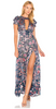 CARMEN MARC VALVO - Crepe Halter Gown - Designer Dress hire