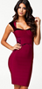 FOREVER UNIQUE - Imogen Dress Red - Designer Dress hire