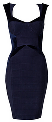 FOREVER UNIQUE - Imogen Dress Blue - Rent Designer Dresses at Girl Meets Dress