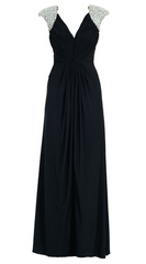 FOREVER UNIQUE - Lowri Maxi Dress Black - Rent Designer Dresses at Girl Meets Dress