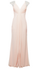 MASCARA - Mackan White Gown - Designer Dress hire