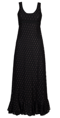 FRANK USHER - Dotty Vintage Dress - Designer Dress Hire