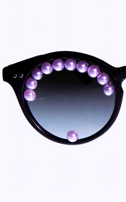 FREDA BANANA - Ghaz Lila Sunglasses - Designer Dress hire