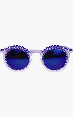 FREDA BANANA - All Blue Sunglasses - Designer Dress hire