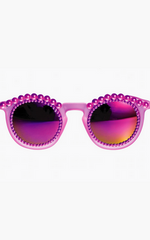 FREDA BANANA - All Purple Sunglasses - Designer Dress Hire