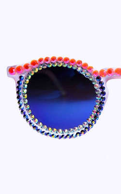 FREDA BANANA - Chouxi Sunglasses - Designer Dress hire