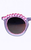FREDA BANANA - Grey Pink Sunglasses - Designer Dress hire