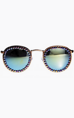 FREDA BANANA - Vic Denim Sunglasses - Designer Dress Hire